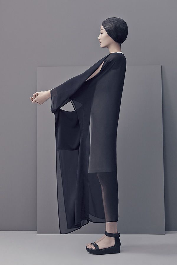 #fashion #trend #style #inspiration #woman #layers #construction #LESS, S/S 2014