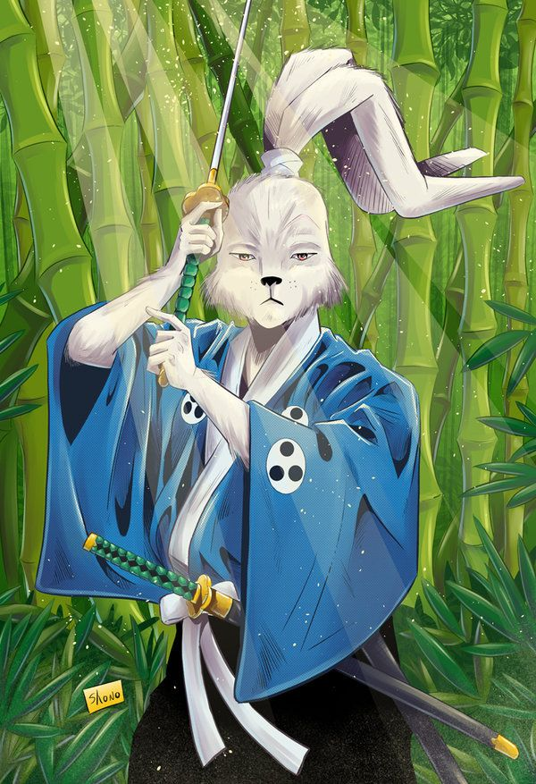 COMMISSION: Usagi Yojimbo by Shono