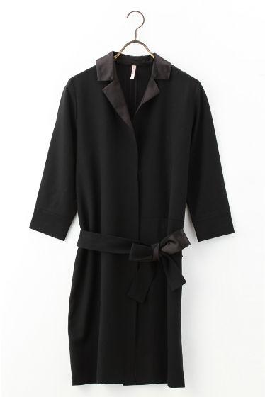 L'Appartement DEUXIEME CLASSEのINDRESS ドレスコートを通販するなら ファッション通販 スタイルクルーズ(Style Cruise) 。  モデルサイズ:身長:166cm バスト:80cm ウェスト:58cm ヒップ:82cm 着用サイズ:38