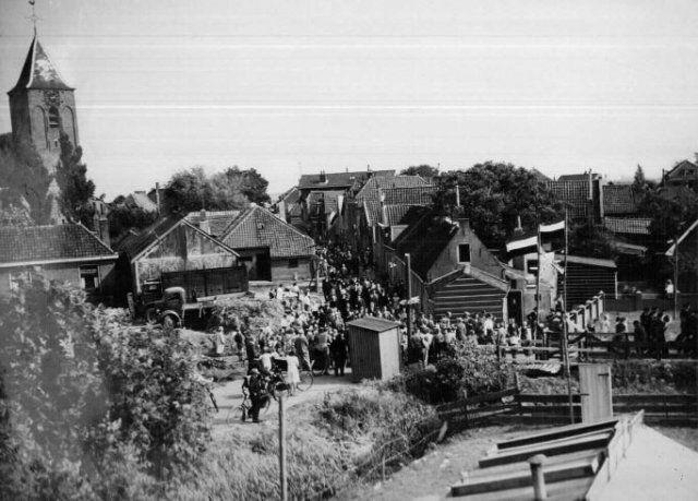Feest met St. Radboud in Kethel 1950
