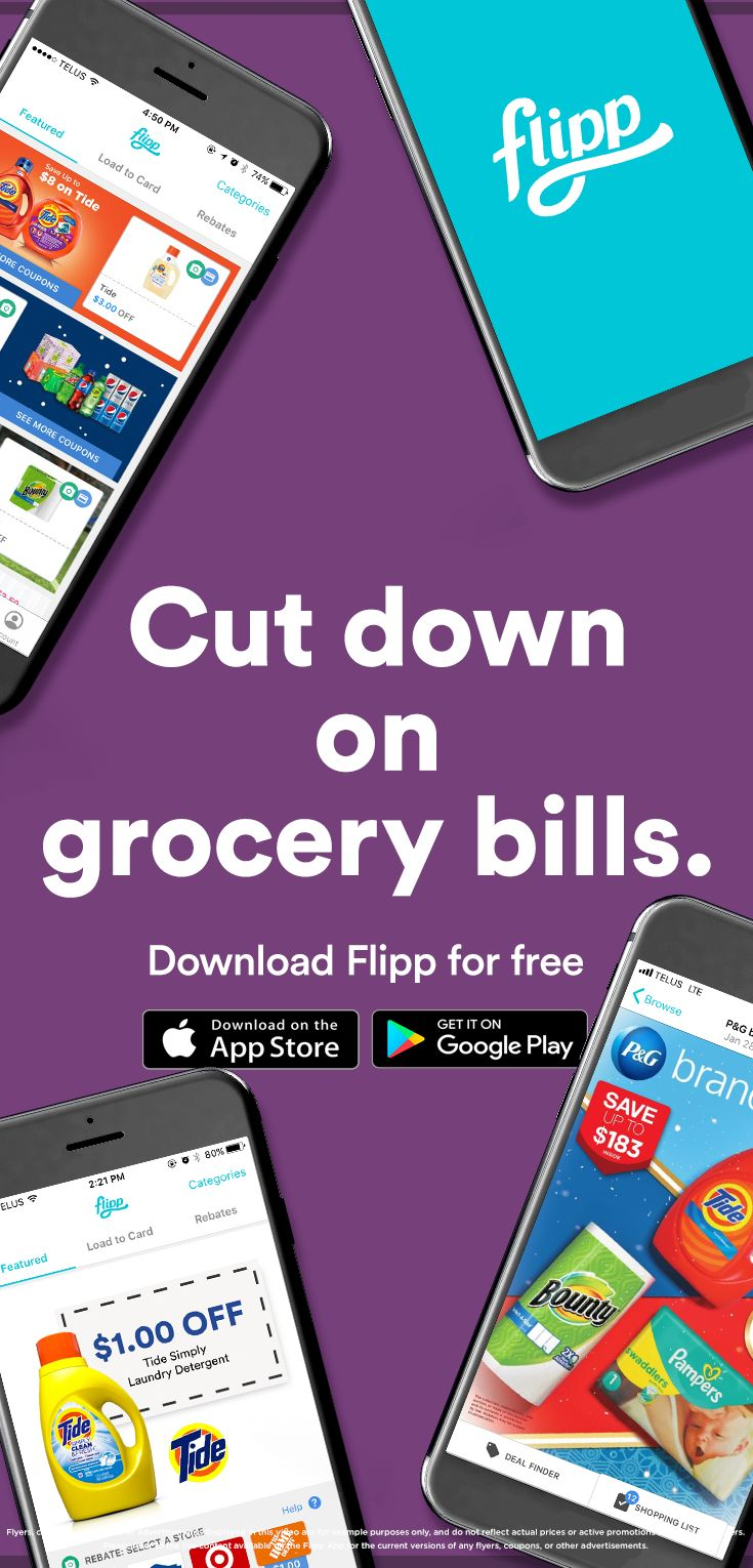Flipp can help you save more money on grocery bills. Browse deals, clip coupons, create a shopping list and more. Download Flipp for free.