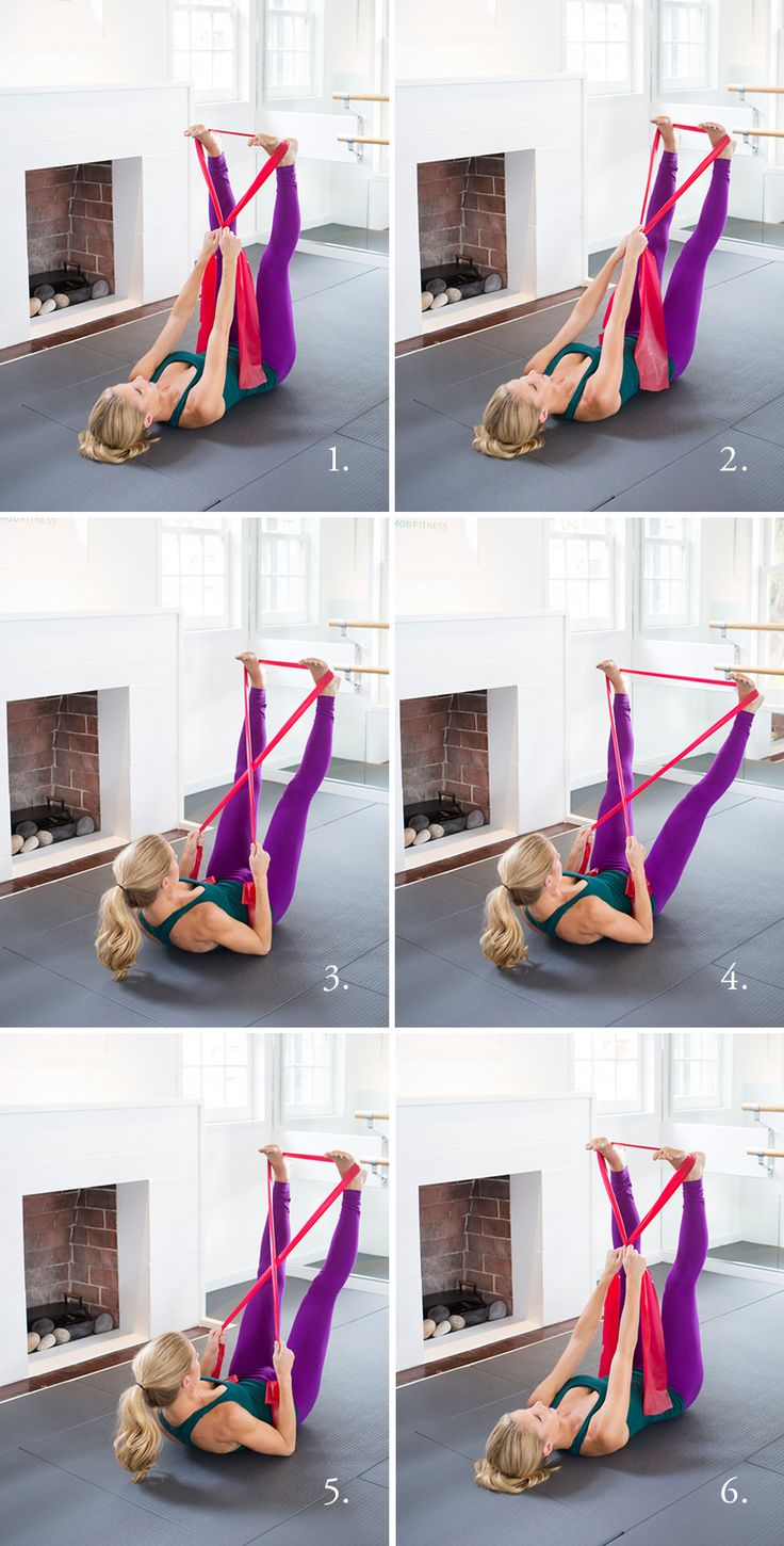 Resistance Band Abs and other amazing hotel room workout moves!