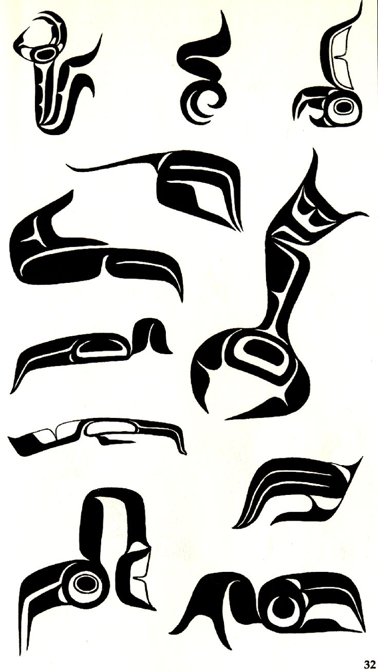 Talon and Claw designs used in West Coast Native Art