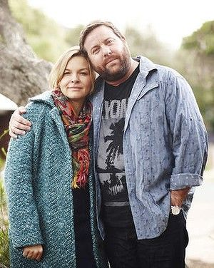 Justine Clarke and Shane Jacobson in The Time of Our Lives  ABC Australia TV Series