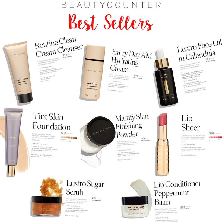 Beautycounter BEST SELLERS! I use three from this list every morning and love them so much! It's the only non-toxic makeup line that actually performs! #beautycounter