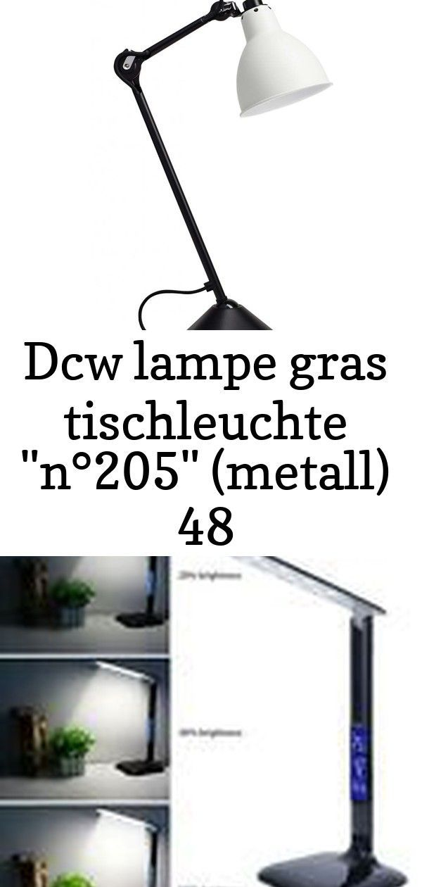 Dcw Lampe Gras Tischleuchte N 205 Metall 48 Decor Home Decor Lamp