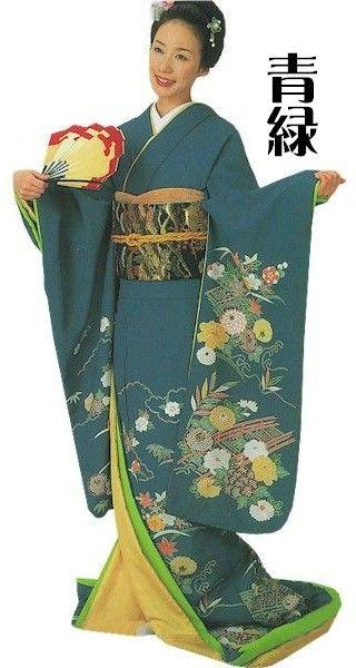 Asakusa Kimono Market | Rakuten Global Market: And in long-sleeved dress 裾引き h9050-51 stage stage outfits kimono ( )