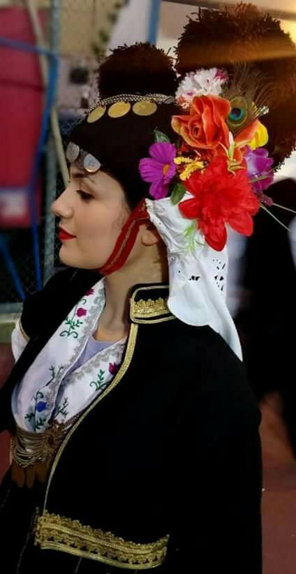 Macedonian Bridal Wear - Traditional Bride Costume of historical #Macedonia in northern #Greece