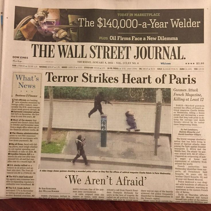 Das Wall Street Journal.
