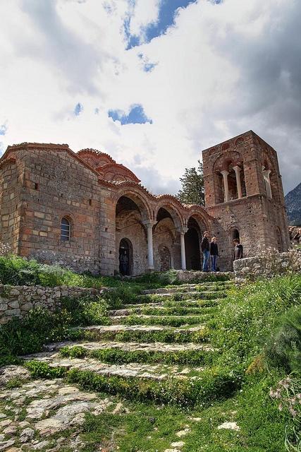 Mystras/Byzantine church Grecia
