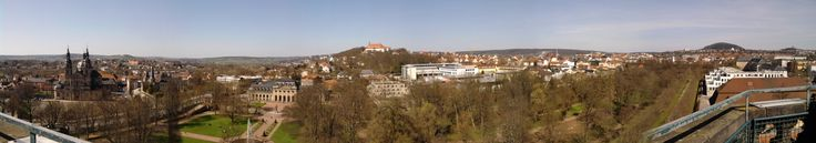 Cidade de Fulda, no estado de Hesse, Alemanha.