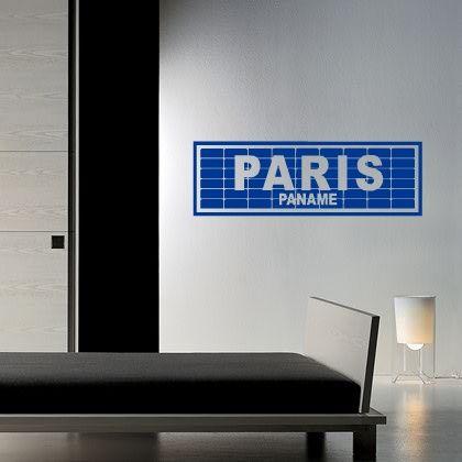 Choisissez ce sticker atypique pour habiller vos murs.