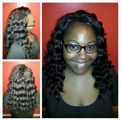 Harlem 125 - Kima Braid - Ocean Wave Crochet Braid style.