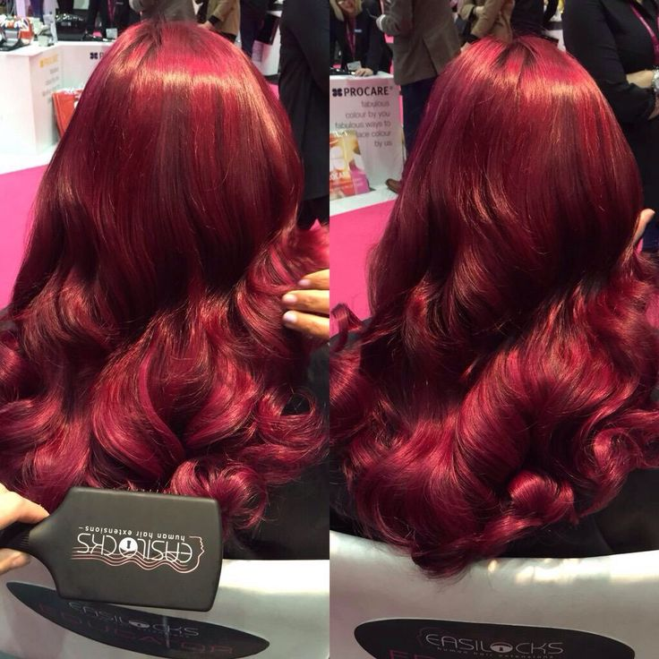 Easilocks amazing colours amazing hair at Toptouch salon in hove