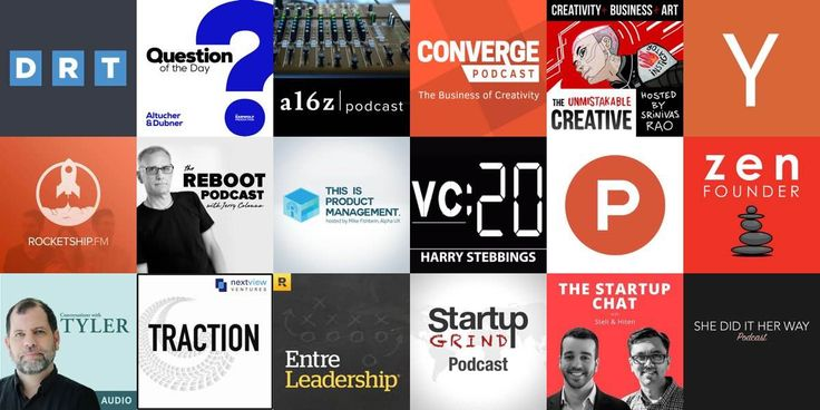 A collection of the best podcasts for startup founders. We think these startup podcasts are the best of the best and worth subscribing to. You're guaranteed to learn something.