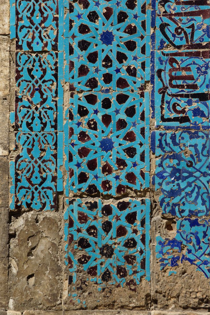 https://flic.kr/p/fA9LBC | A blue day in Tokat - Selcuk/Persin tiles at the Gok Medrese