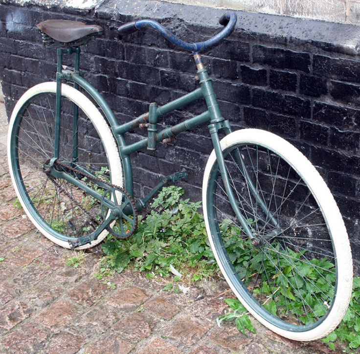1898-1918 WW1 Peugeot Capitaine Gerard MILITARY FOLDING Bicycle Vintage Antique