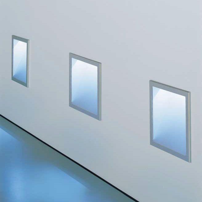 Leuchte für Wandeinbau / Aufbau / LED / quadratisch KAVA ZUMTOBEL