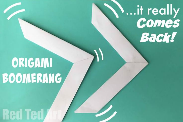 Paper Origami Boomerang. This is such a cool paper toy to make. Quick to learn, hours of play!!