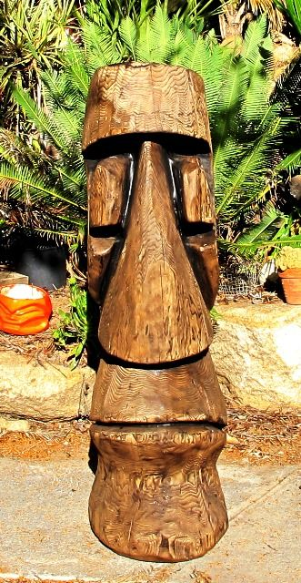 Best images about tiki carving on pinterest chainsaw