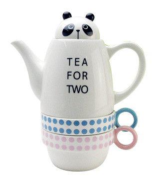 [zakka shop shinzi katoh collection]tea for two [panda]