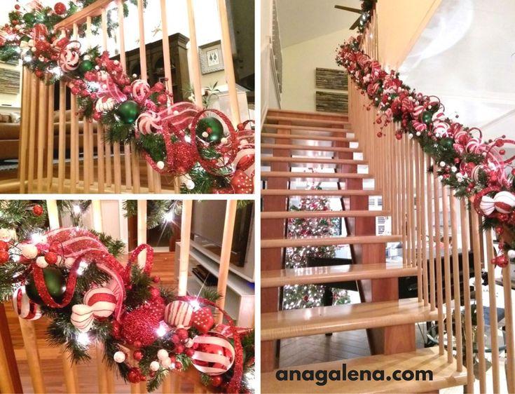 17 best images about navidad decoraciones on pinterest christmas trees cranberry centerpiece - Decoraciones para navidad ...