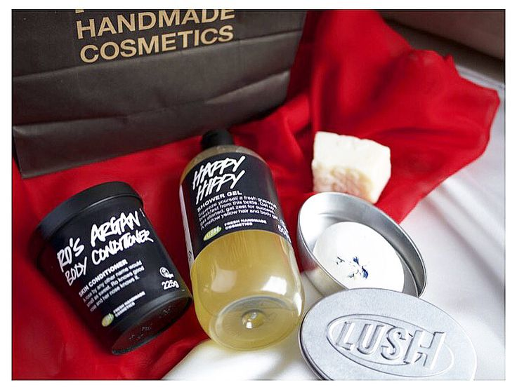 Cruelty free bath and body products: lush