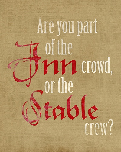 Are you part of the Inn Crowd or the Stable Crew?