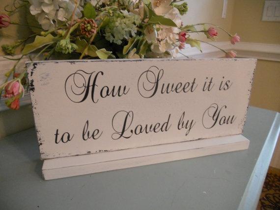 Wedding Day Table display Sign