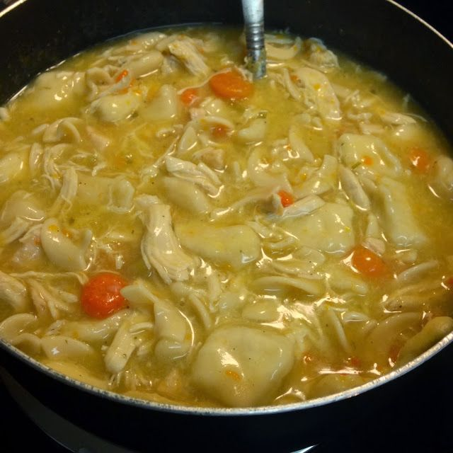 Southern Chicken and Dumplings | Food | Pinterest