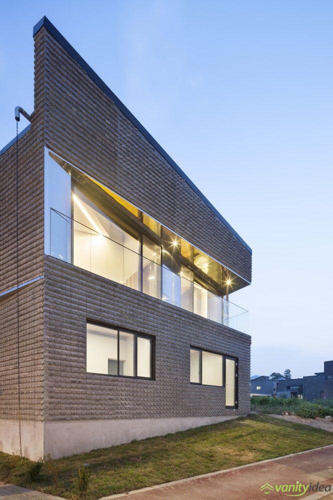 outstanding basalt-brick house