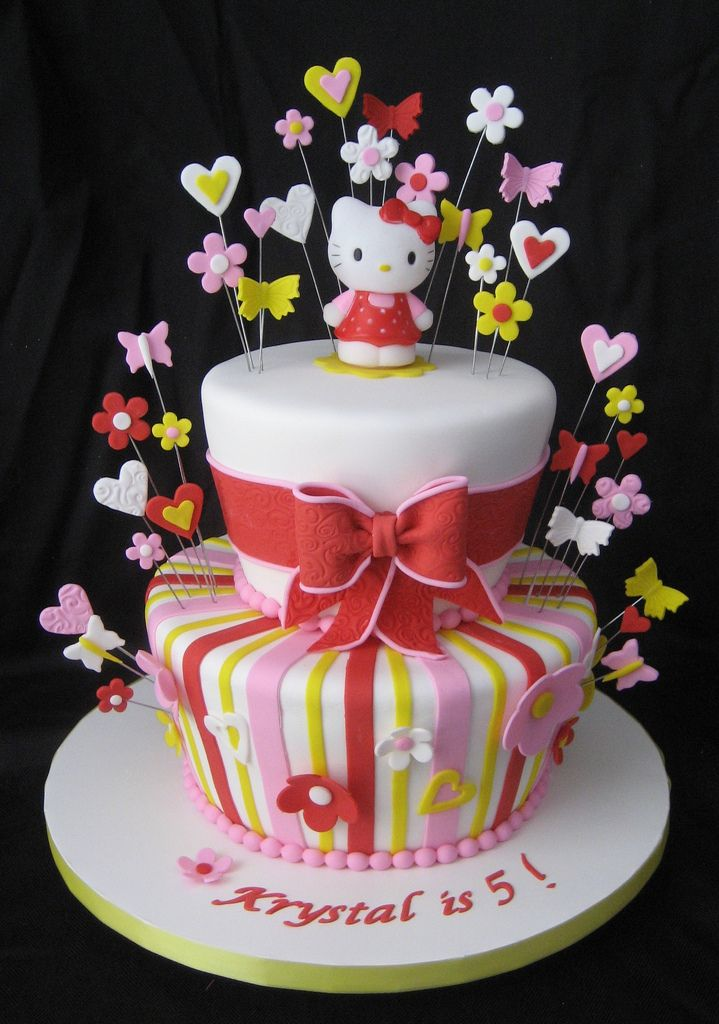 Hello Kitty for Krystal | by Cake Diane Custom Cake Studio (eyedewcakes)