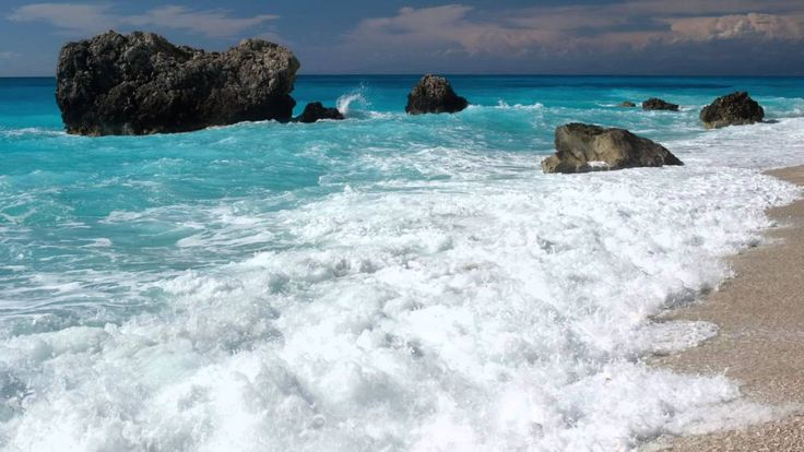 Calming Seas 11 Hours Ocean Sound for relaxation, yoga, meditation, read...