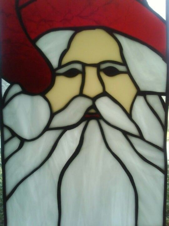 98 best stained glass birds images on pinterest for Santa glasses for crafts