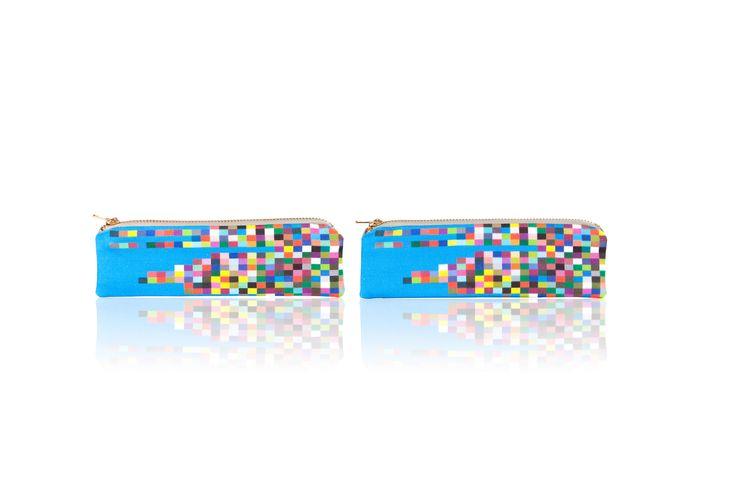 "ELECTRON BLUE 7"" BY 2"" CANVAS/COTTON BLEND W:TGBGPRINTINGCO.COM"