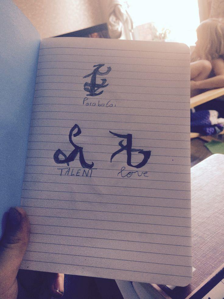 My OWN runes drawed