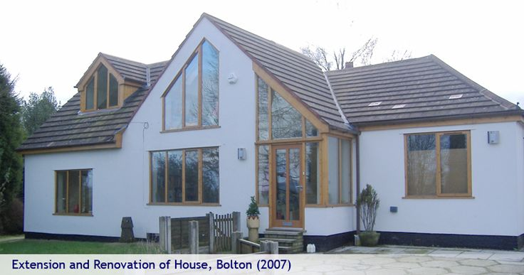 Architects Holmfirth - Extensions To Houses - House Renovation - Contemporary House Design - Halifax - London - Bolton