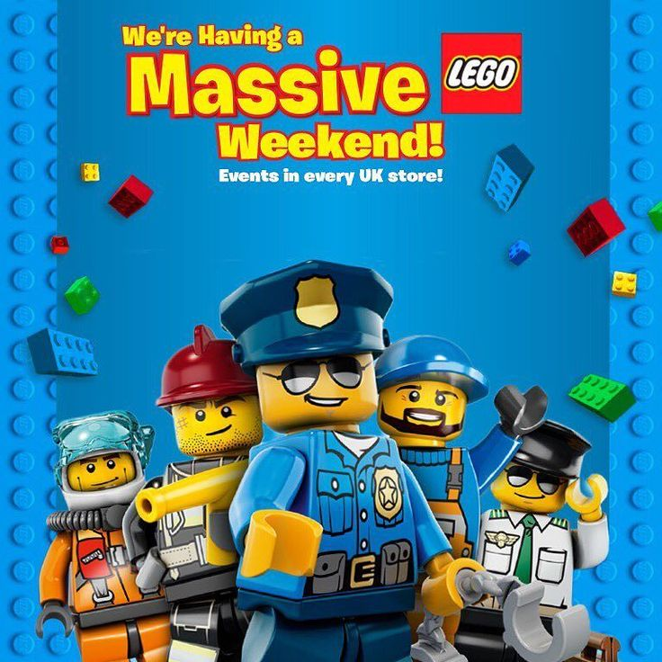 Were Having A Massive Weekend In All Our UK & Northern Ireland Stores This May Bank Holiday And Youre Invited! Check Out Smyths.Com For More Details! #lego #legostagram #legomania #legofan #legoaddict #legofun #smyths #smythstoys #smythstoyssuperstores #toystagram #event