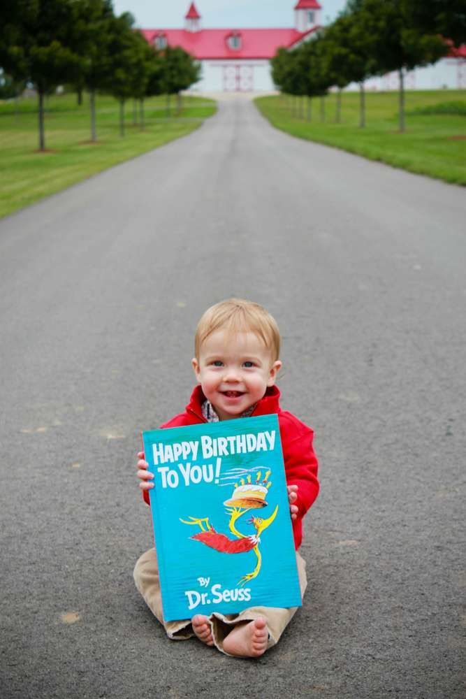 First Birthday/Dr. Seuss Birthday Party Ideas   Photo 2 of 33   Catch My Party