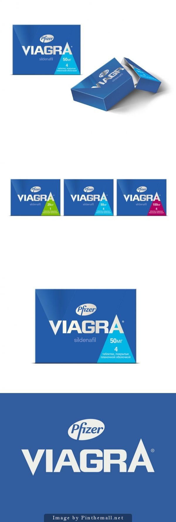 Pfizer #Viagra, Creative agency: Pearlfisher - http://www.packagingoftheworld.com/2014/10/pfizer-viagra.html