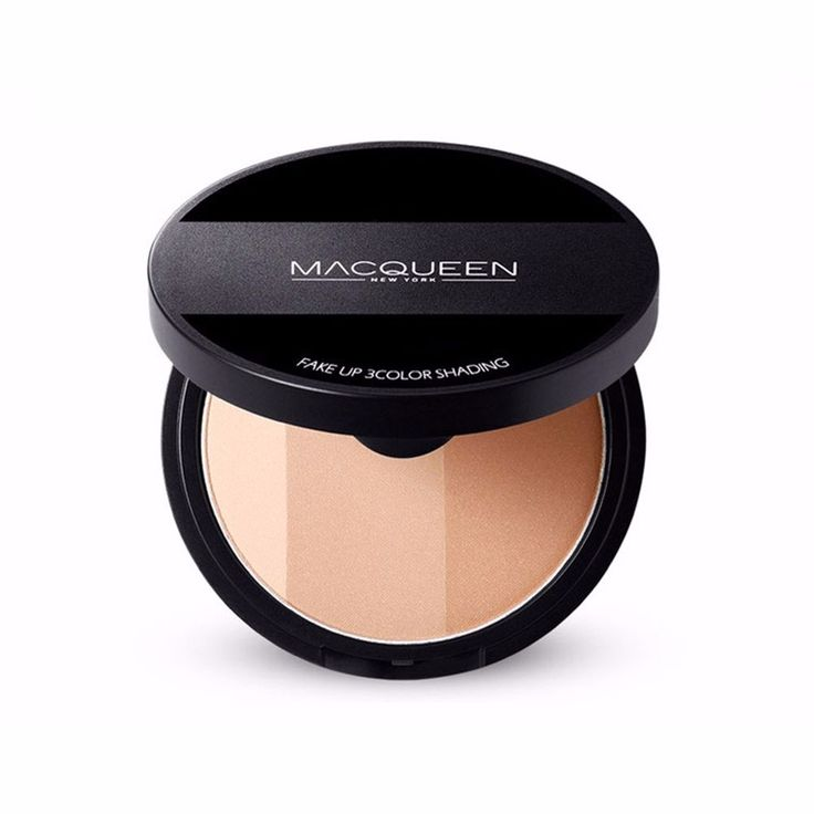 Macqueen Fake Up Shading Shadow Foundation 3 Colors #Macqueen