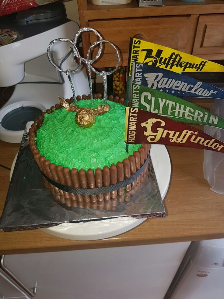 Harry potter themed cake  xxx