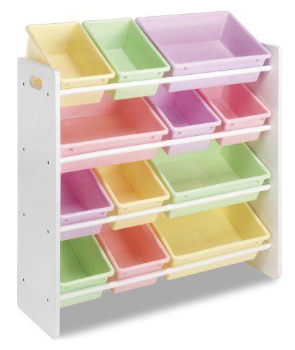 Whitmor Kids Storage Bin Organizer Pastel... $86.26 .