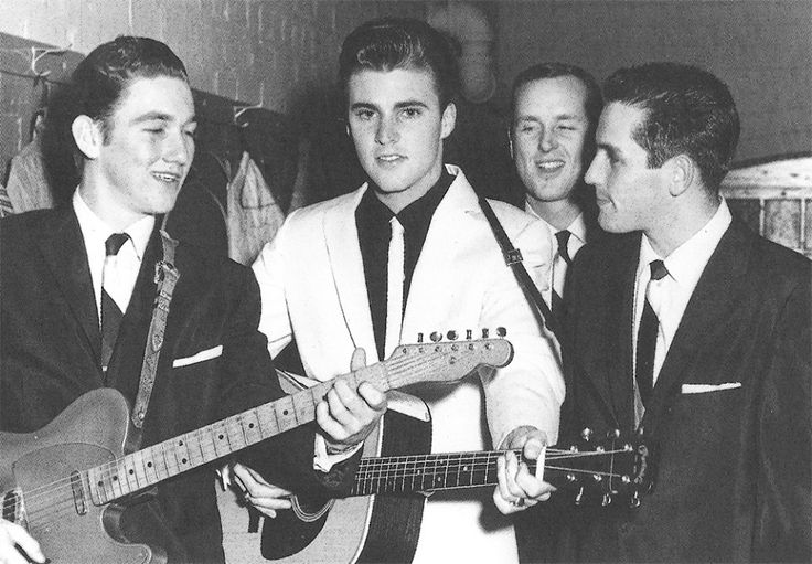 #James #Burton and #Ricky #Nelson