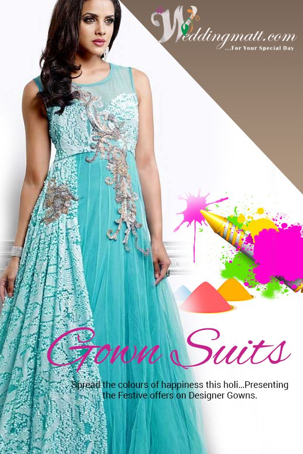 Entice the Diva in you …… Dress up in these gown suits  #Weddingmatt #WeddingCollection  Shop @ http://www.weddingmatt.com/