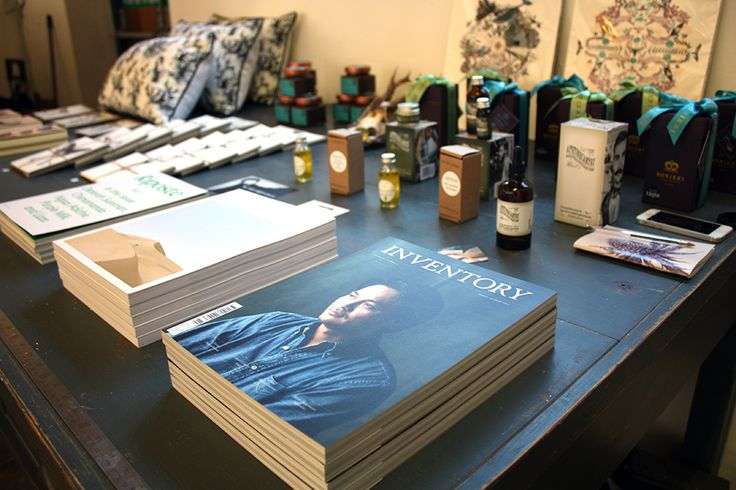 Inventory Magazine from Natural History Mercantile - now popping up in central Oxford at 3 King Edward Street.