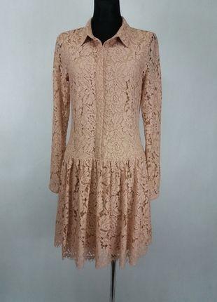 Kup mój przedmiot na #vintedpl http://www.vinted.pl/damska-odziez/krotkie-sukienki/13559188-sliczna-koronkowa-sukienka-z-obnizonym-stanem-vila-nowa-m