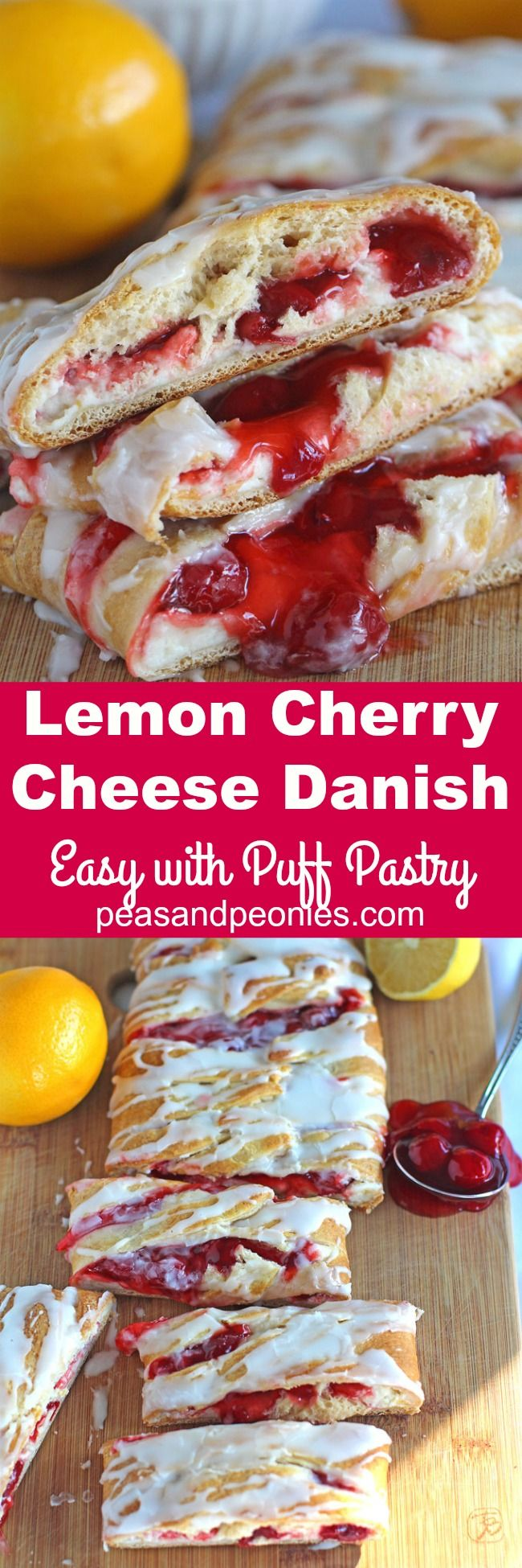 766 best more danish food images on pinterest danish food denmark lemon cherry cheese danish recipe is very easy to make with puff pastry ready in forumfinder Gallery
