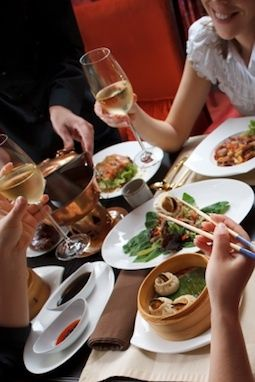 What to drink with a new-year feast . The Chinese are discovering wine. And just in time. We've always had a love affair with Chinese food here in NYC; after all, who else delivers at 3...
