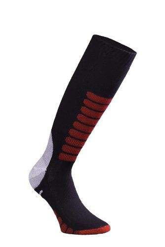 Eurosocks Ski Supreme Socks, Black, Large Eurosocks